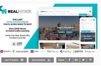 Download Real Estate 7 v2.9.4 - Real Estate WordPress Theme