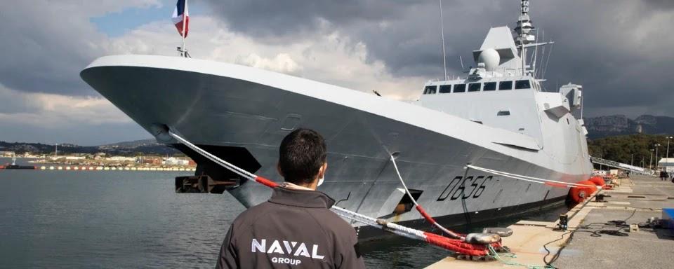 Naval Group передала ВМС Франції перший фрегат FREMM з посиленими можливостями