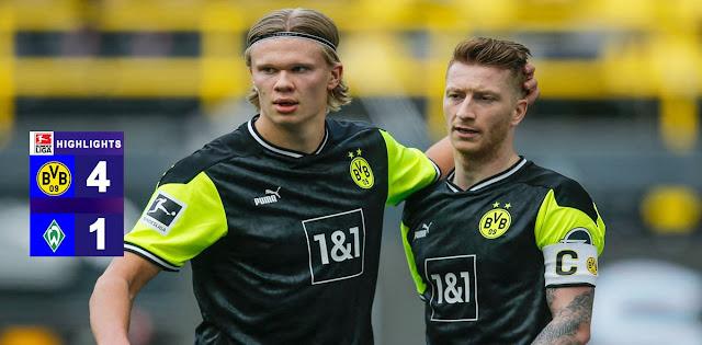 Borussia Dortmund vs Werder Bremen – Highlights