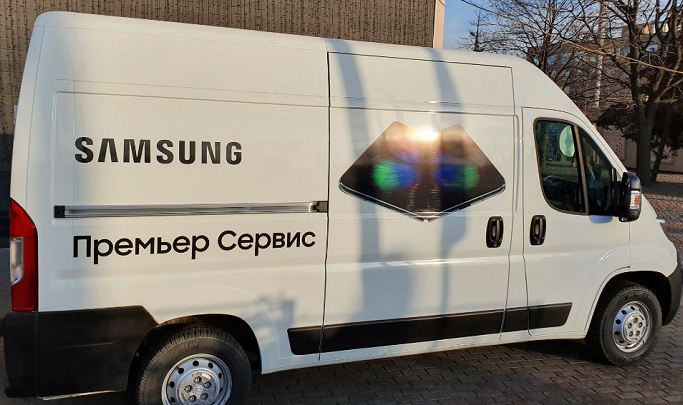 In Russia, an ambulance for the flagships of Samsung