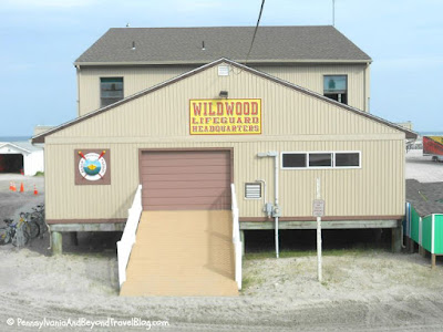 Wildwood Lifeguard Station in New Jersey