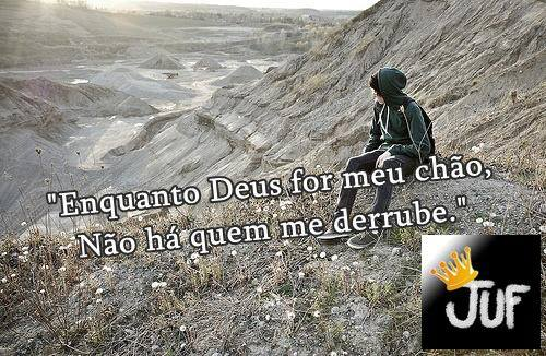 """Enquanto Deus For Meu Chão Não Há Quem Me Derrube: FATOS Com Jônatas Rêgo: Grupo """"JUF"""" """"Enquanto Deus For Meu"""