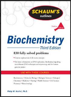 قراءة وتحميل كتاب سلسلة ملخصات شوم في الكيمياء الحيوية Biochemistry pdf، مسائل محلولة في الكيمياء الحيوية ملخصات شوم إيزي في الكيمياء الحيوية برابط مباشر مجانا، كتب ومراجع كيمياء