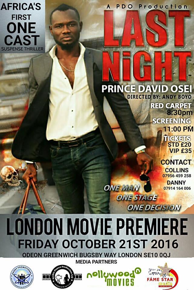 Last Night movie premiere