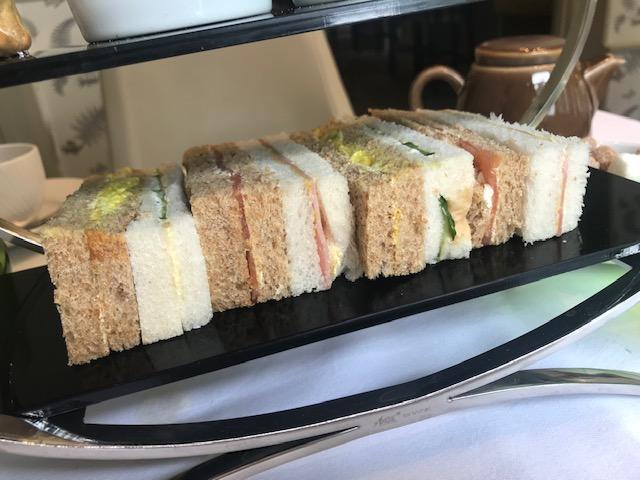 Afternoon Tea, Woughton House, Milton Keynes, Date, Food, Sandwiches,