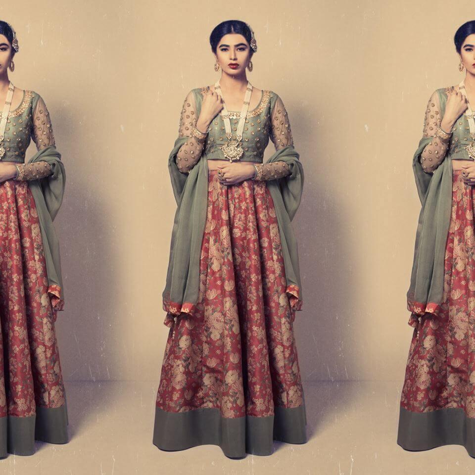 Zara Shahjahan Bridal Lehenga Choli Online