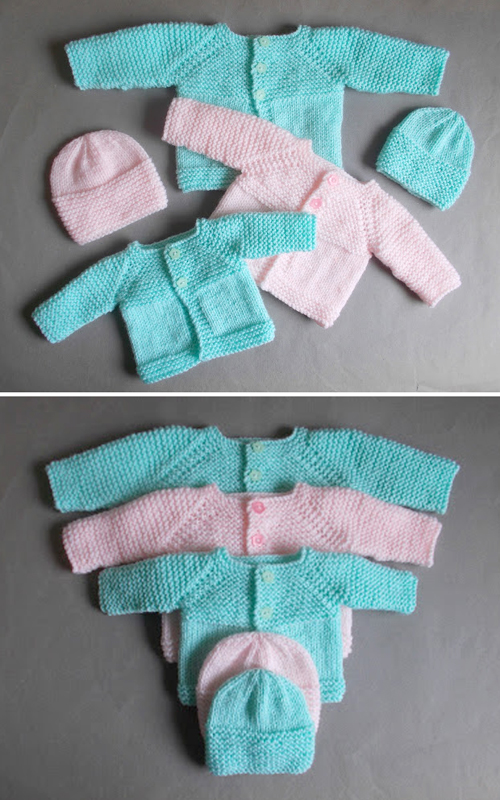 Little Babbity (Premature Baby Set) - Free Pattern