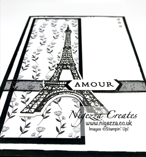 Nigezza Creates with Stampin' Up! Parisian Beauty & Golden Honey Card