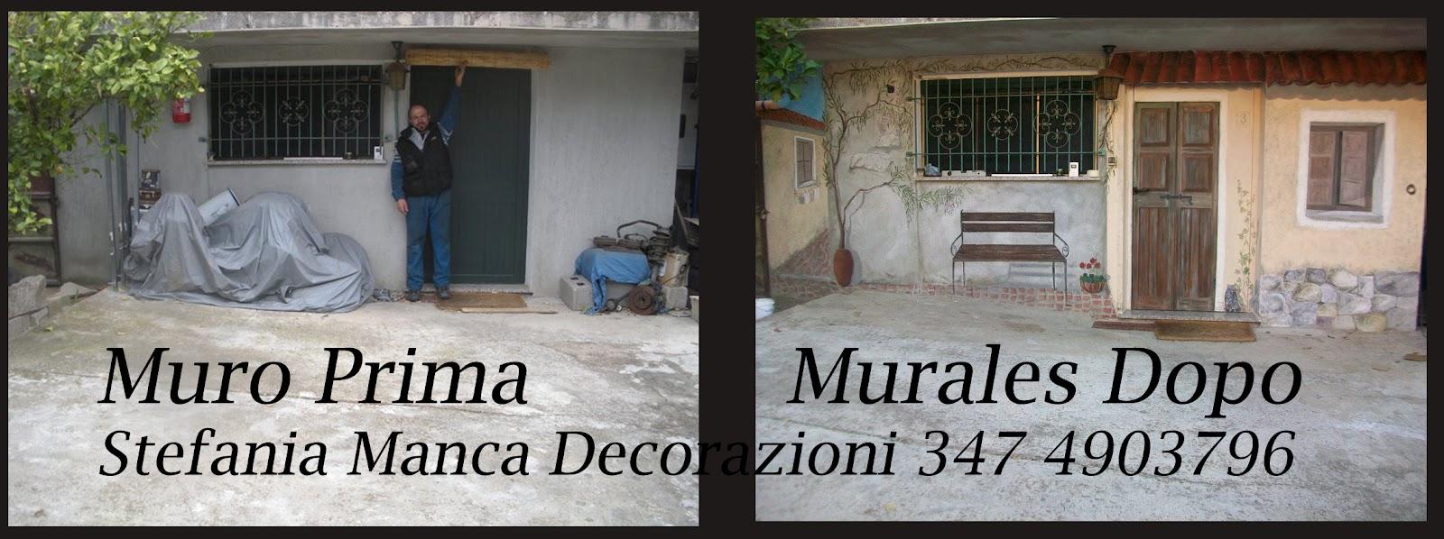 Murales trompe l 39 oeil e decorazione pareti e camerette for Decorazioni pareti camerette bambini