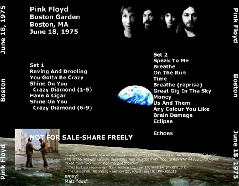 Pink Floyd Shine Live Cd
