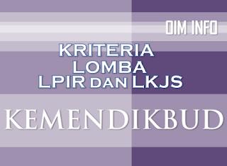 Kriteria Peserta Lomba LPIR dan LKJS