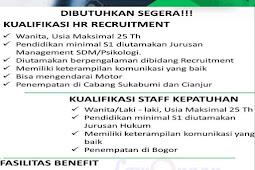 Lowongan Kerja BPR Dana Mandiri Bogor