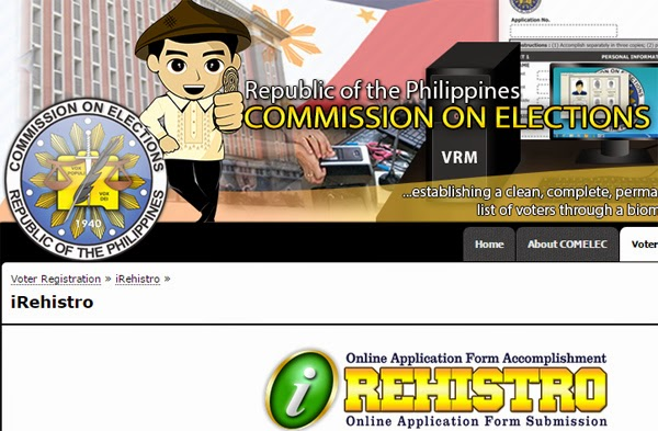 How To Register 'Voters Online Registration' Implemented by Comelec