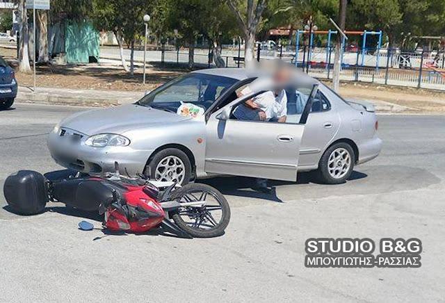 Τροχαίο ατύχημα με τραυματία στη Νέα Κίο