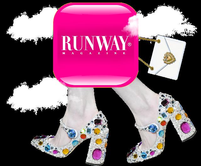 RUNWAY MAGAZINE Logo