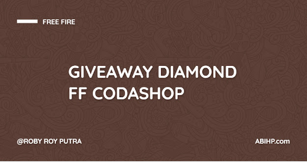 Giveaway Diamond Codashop Tiap Hari 1