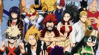 ヒロアカ アニメ   1年A組   My Hero Academia Class 1-A   Hello Anime !