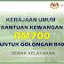 Kerajaan Umum Bantuan Kewangan RM700 Untuk Golongan B40 - Semak Kelayakan