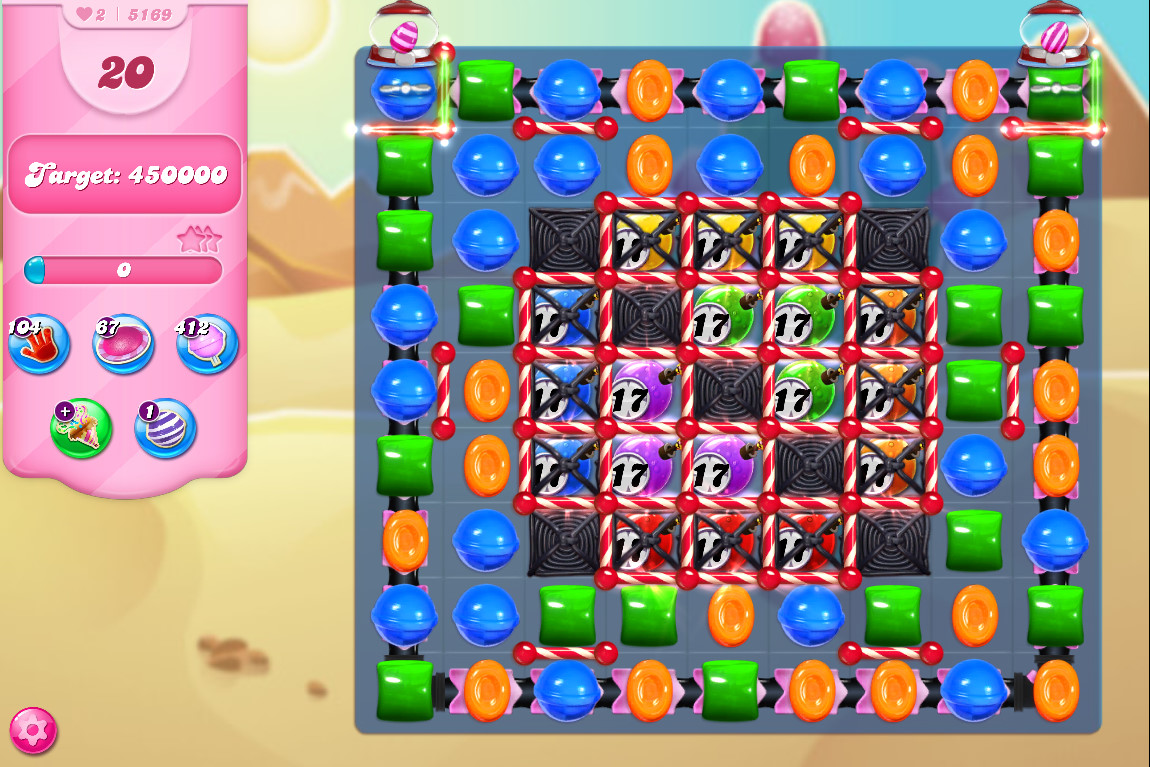 Candy Crush Saga level 5169