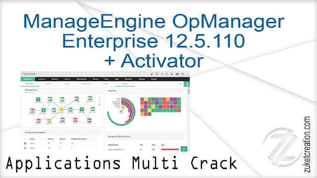 ManageEngine OpManager Enterprise 12.5.110 + Activator
