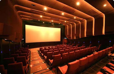 Imagen de una Sala de Cine, lugar donde comienza la magia