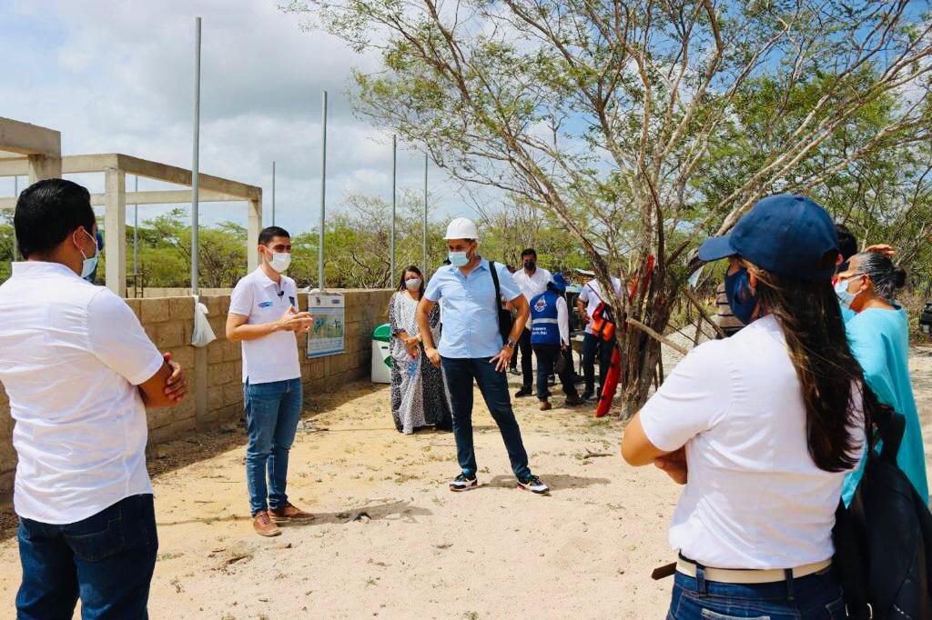 """hoyennoticia.com, Minvivienda inició """"¡ Vamos pa´la obra ! de Guajira Azul"""