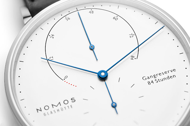 Nomos Glashütte Lambda 175 Years Watchmaking Glashütte white enamel