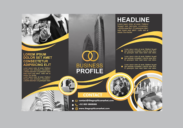 download business brochure design free, free download, vector, graphic design, the graphics market
