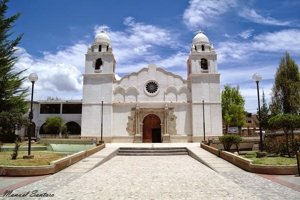 Chupaca, iglesia de San Juan Bautista