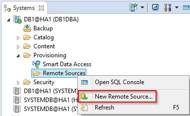 SAP Data Provisioning