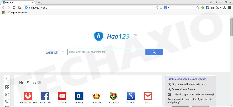 Baidu Browser Screenshot