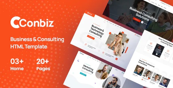 Best Consultancy & Business HTML Template
