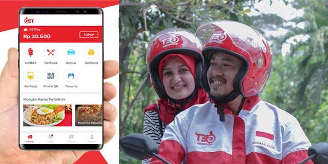 Cara Daftar Jadi Driver GET Indonesia Secara Online