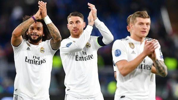 تشكيل ريال مدريد ضد ريال سوسيداد عبر سوفت سلاش
