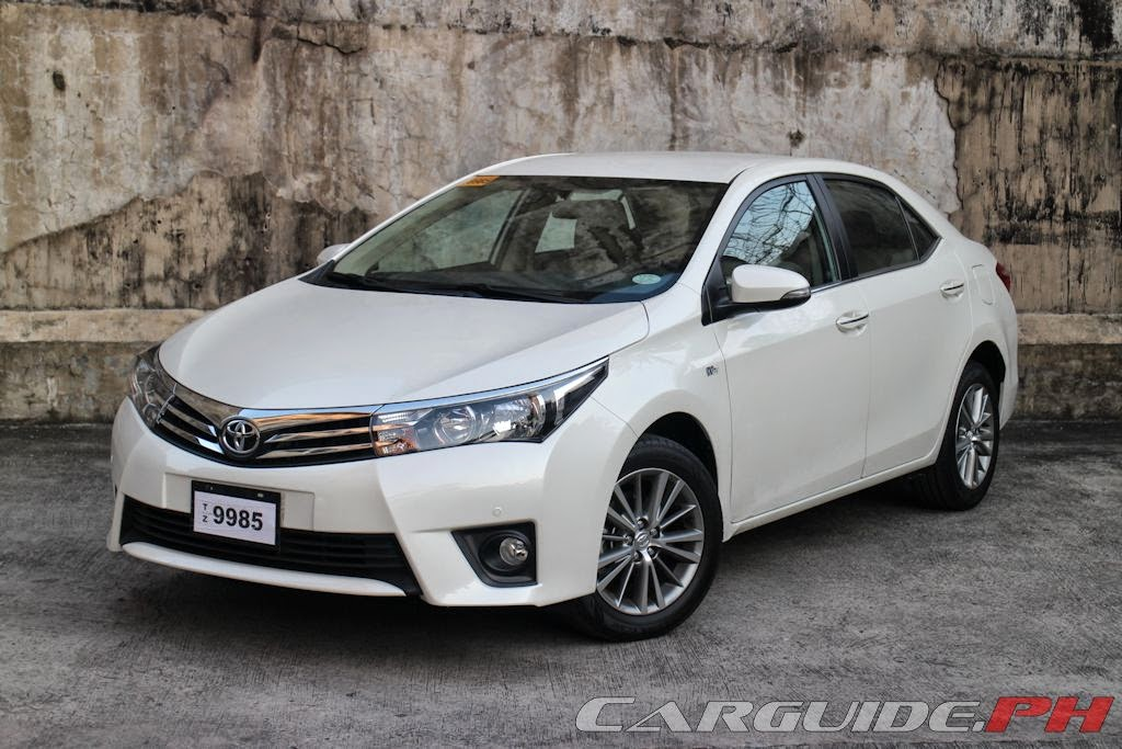 Review 2014 Toyota Corolla Altis 1 6 V Philippine Car