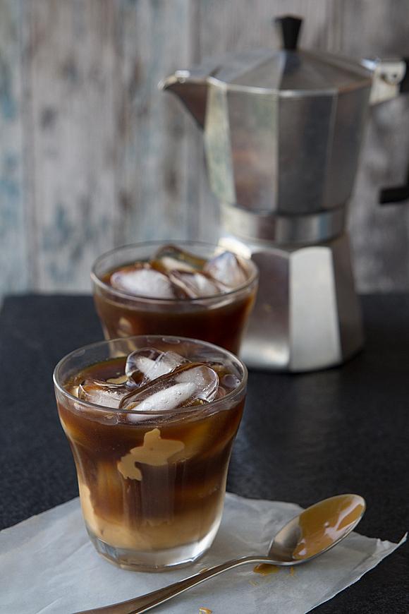 Café helado con arequipe y licor de naranja - Novedades en el Blog