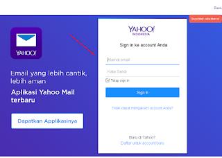 Cara buat email signature di yahoo terbaru