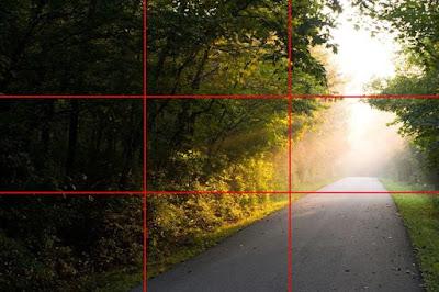 Contoh Angle foto teknik Rule Of Thirds