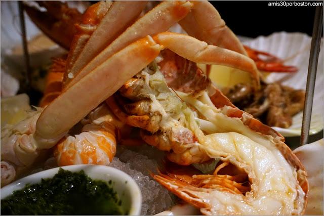 Fruits de Mer 'Seafood Bar' del Combinado de Mariscos en Amsterdam
