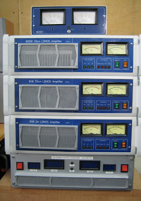 2m 70cm 23cm LDMOS AMPLIFIERS STACKED