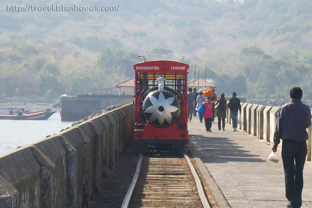 Battery train to reach Elephanta Caves Mumbai