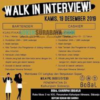 Walk In Interview at Bobal Kahuripan Sidoarjo Terbaru Desember 2019
