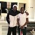 Asisat Oshoala Visits Paul Okoye At Home [Photos]