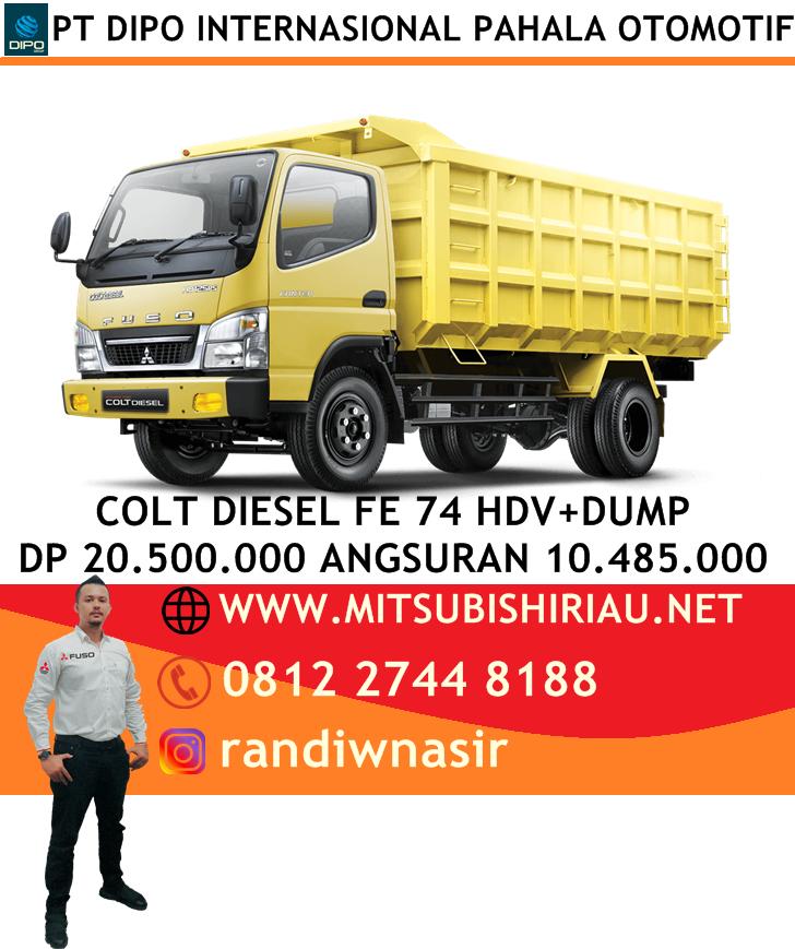 Promo Kredit Murah Colt Diesel 74 HDV Pekanbaru Riau