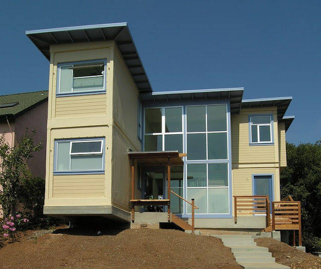 Refrigerated Shipping Container Home, San Francisco, California 2