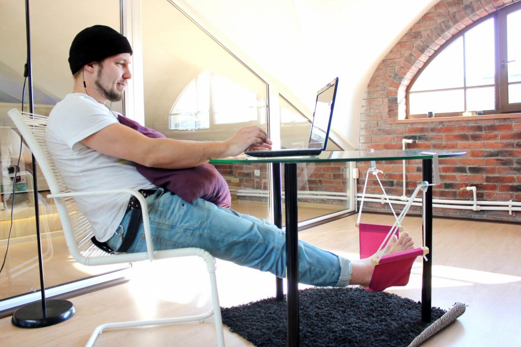 Foot hammock  unique business ideas
