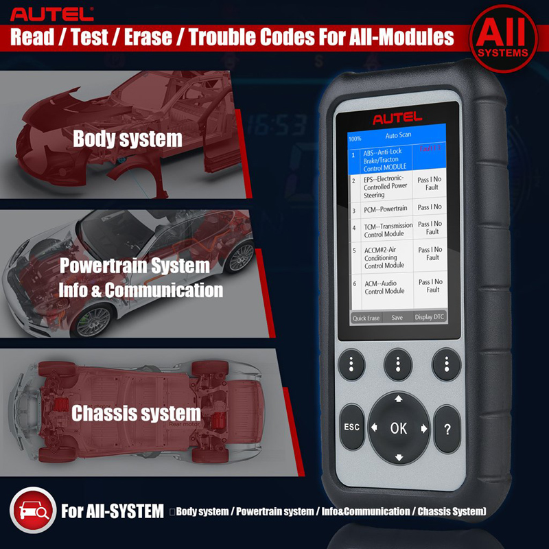 What's the difference between Autel MD806 Pro and MD806
