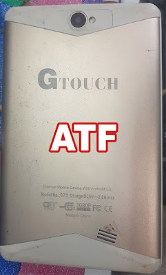 GTouch G75 Flash File