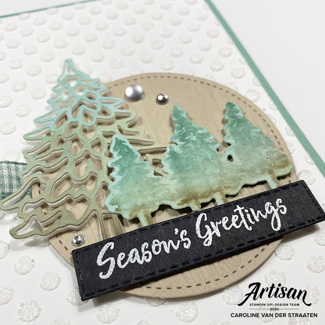 Stampin' Up!, In the Pines, Caro's Kaartjes, Artisan Design Team