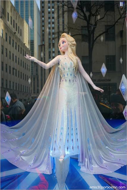 Elsa en el Saks Fifth Avenue de Nueva York